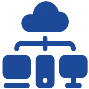 cloud infrastructure by Timofei Rostilov from the Noun Project