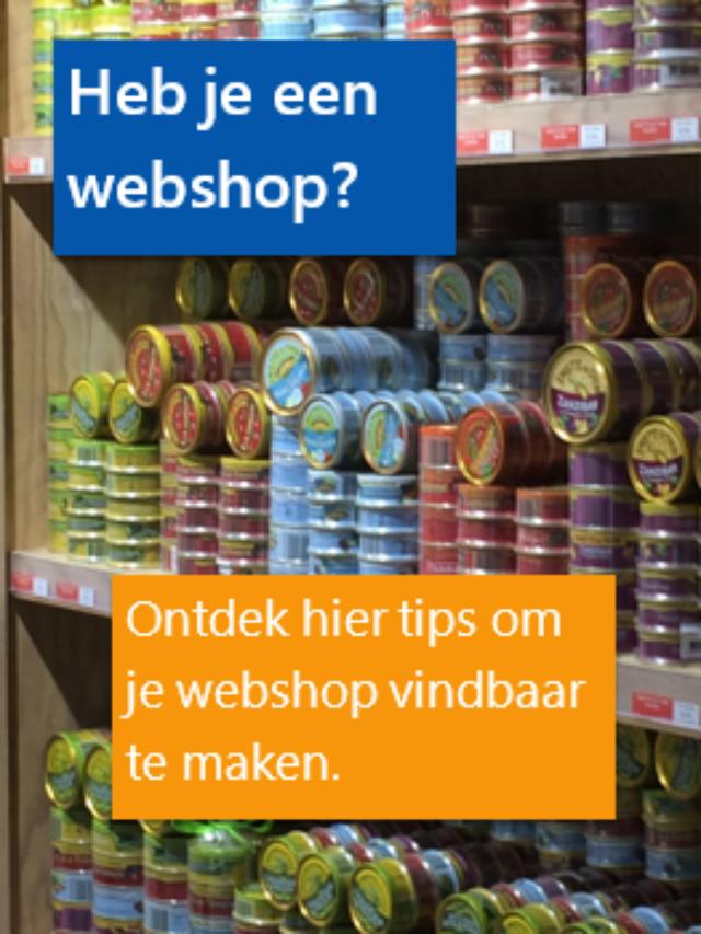 Tips om je webshop vindbaar te maken